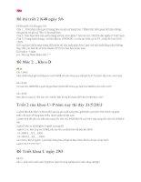 Đề thi môn triết 2 K48 ngày 5.6.2013 đại học thương mại