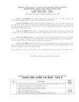 Hoá học 8 - đề kiểm tra, thi học kỳ, sưu tầm thi học sinh giỏi tham khảo ôn thi (89)