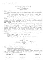 Đề môn vật lý 9 kiển tra, thi học sinh giỏi, tuyển sinh vào 10 chuyên sưu tầm bồi dưỡng (46)