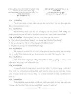 Đề thi đề xuất học sinh giỏi các trường chuyên khu vực duyên hải và đồng bằng bắc bộ môn lịch sử lớp 10 năm 2015 trường chuyên LƯƠNG VĂN TỤY NINH BÌNH