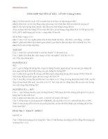 TỔNG HỢP đề thi môn NGUYÊN LÝ MÁC 2 tháng 5.2014 đại học thương mại