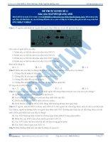 Đề thi thử môn Sinh học thầy Nguyễn Quang Anh số 11
