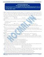 Đề thi thử môn Sinh học thầy Nguyễn Quang Anh số 10
