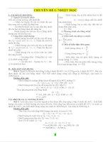 bài tập vật lý lớp 8 dành cho HSG