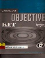 cambridge english Objective KET Workbook