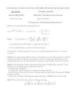 đề thi vào lớp 10 môn toán tỉnh bắc giang năm 2015-2016