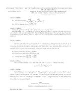 đề thi vào lớp 10 môn toán chuyên tỉnh vĩnh phúc năm 2015-2016