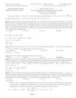 Đề thi thử vật lý chuyên Đại học sư phạm Hà Nội - Lần 7 - Giải chi tiết