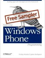Learning windows phone programming sampler ch02