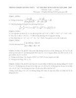 đề thi và hướng dẫn giải kỳ thi HSG toán lớp 9 cấp huyện yên thủy