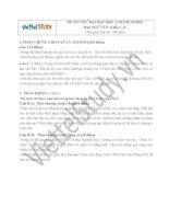 Đề thi thử Đại học môn Ngữ Văn Đợt 3 Tháng 5 năm 2014, trường Trường ĐH KHXH & Nhân văn, Hà Nội