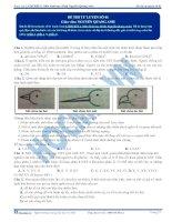 Đề thi thử môn Sinh học thầy Nguyễn Quang Anh số 1