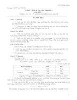 đề ôn thi đại học môn địa lý 2016, đề số   13