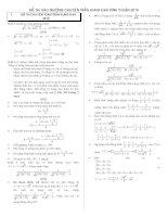 đề toán thi vào lớp 10 môn toán chuyên trường trần hưng đạo bình thuận năm 2015-2016