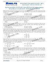 40 câu hỏi trắc nghiệm Phương pháp giải bài tập Hoán vị gen P2