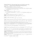 ĐỀ THI THỬ TUYỂN SINH THPT QUỐC GIA năm 2015 môn toán, đề số 6