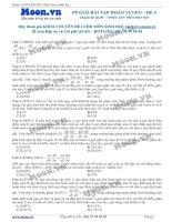 40 câu hỏi trắc nghiệm Phương pháp giải bài tập Hoán vị gen P4