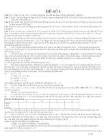 100 ĐỀ LUYỆN THI HSG HÓA HỌC 8 THCS