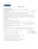Luyện thi đại học chương quang học lý thuyết