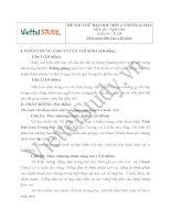 Đề thi thử Đại học môn Ngữ Văn Đợt 2 Tháng 6 năm 2014, trường THPT Chuyên Lam Sơn, Thanh Hóa