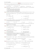 bộ đề ôn trắc nghiệm vật lý thi tốt nghiệp đề 2
