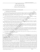 Đề cương ôn tập Chuyên đề Điện học (HCMUP)