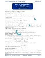 Đề thi thử Đại học số 2 Thầy Lê Bá Trần Phương