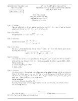 Đề thi vào lớp 10 môn Toán chuyên Lương Văn Chánh - Phú Yên 2013