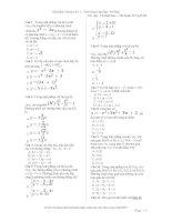 Tài liệu ôn thi Toán lớp 12 (4)