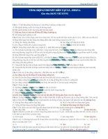 370 câu trắc nghiệm lý thuyết Vật lý (3)