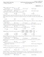 Đề ôn tập cuối năm môn Toán lớp 5 - Dành cho Học sinh giỏi (Đề 1)