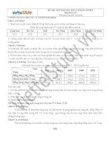 Đề thi thử Đại học môn Địa Lý Đợt 4 Tháng 5 năm 2014, trường ĐH KHXH & Nhân văn, Hà Nội