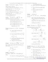 Tài liệu ôn thi Toán lớp 12 (8)