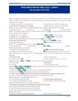370 câu trắc nghiệm lý thuyết Vật lý (5)