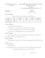 Đề thi học sinh giỏi môn Địa lí lớp 9 cấp huyện số 2