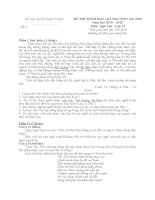 đề thi minh họa hướng dẫn chấm môn ngữ văn 12 sở giáo dục đào tạo bắc ninh đề số 3