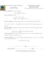 đề thi HSG toán 10 cấp trường năm 2013