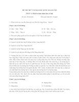 Đề thi thử đại học quốc gia Hà Nội (4)