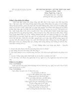 đề thi minh họa hướng dẫn chấm môn ngữ văn 12 sở giáo dục đào tạo bắc ninh đề số 5