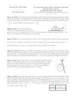 đề thi chọn hsg vật lí lớp 10 vĩnh phúc  đề số 11