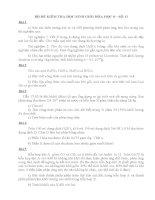 Bộ đề kiểm tra học sinh giỏi Hóa học 8 kèm đáp án số 11