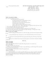 đề thi minh họa hướng dẫn chấm môn ngữ văn 12 sở giáo dục đào tạo bắc ninh đề số 6