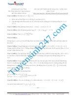 Đề thi thử THPT môn Toán 2015 số 49