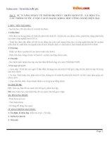 Giáo án địa lý 11 bài 1