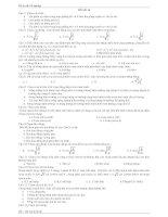 đề ôn tốt nghiệp môn toán, số 9