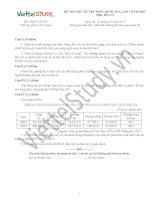 Đề THI THỬ THPT Quốc gia Tháng 01 - 2015 môn Địa Lý (Đợt 3)
