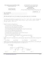 Đề thi thử THPT quốc gia 2015  môn hóa, số  2