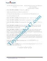 Đề thi thử THPT môn Toán 2015 số 36