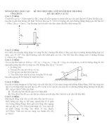 Đề thi học sinh giỏi môn vật lý lớp 10 (50)