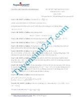 Đề thi thử THPT môn Toán 2015 số 37